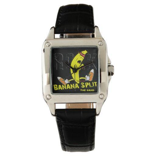 b45dd0625aeb Tu reloj Reloj de pulsera de cuero negro cuadrado para mujer personalizado