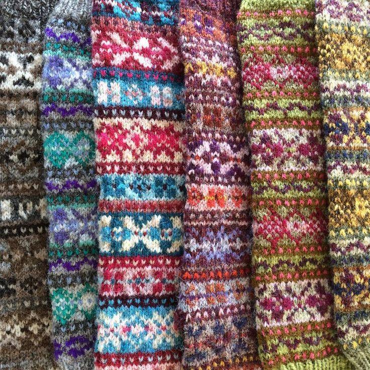 Bildergebnis für fair isle stricken   Fair Isle   Pinterest
