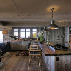 eclectic kitchen by Simmons and Company