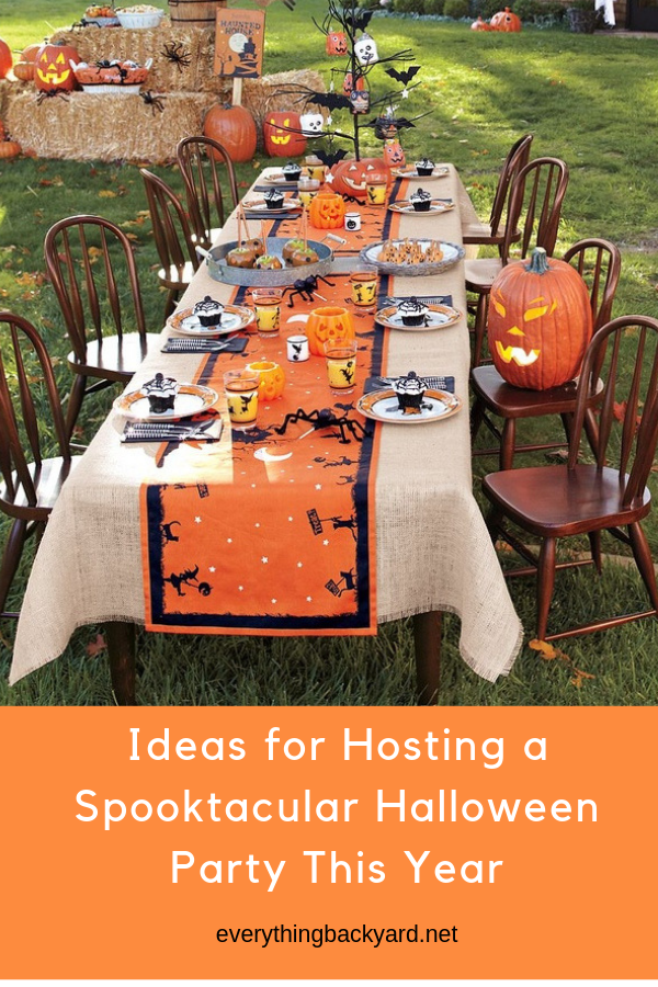 Ideas for Hosting a Spooktacular Halloween Party This Year