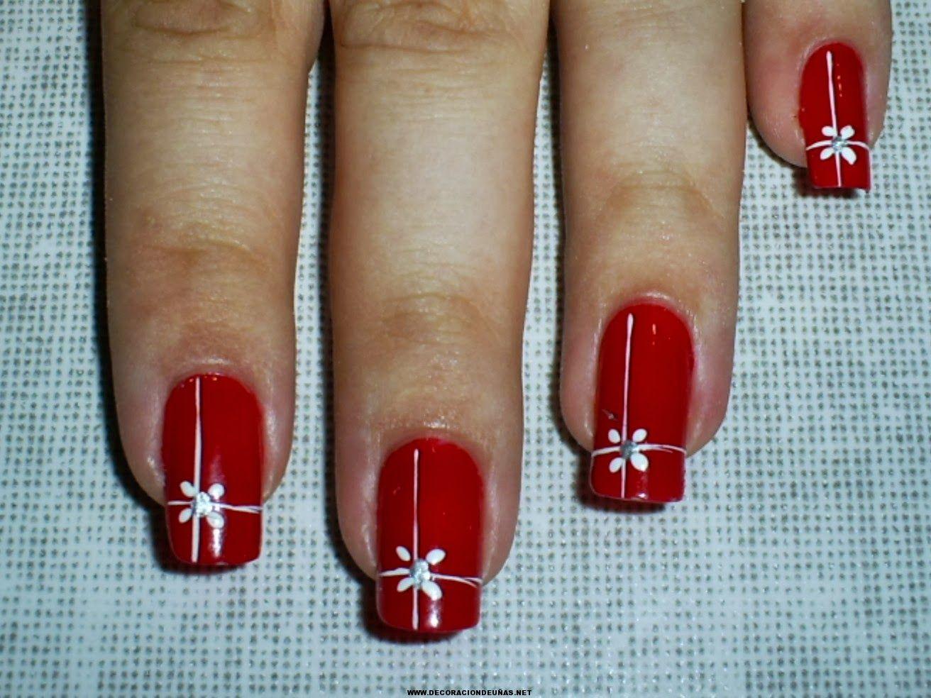 fotos de uas navideas u christmas nails decoracin de uas manicura y nailart