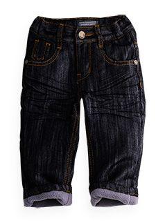lined fashion jean