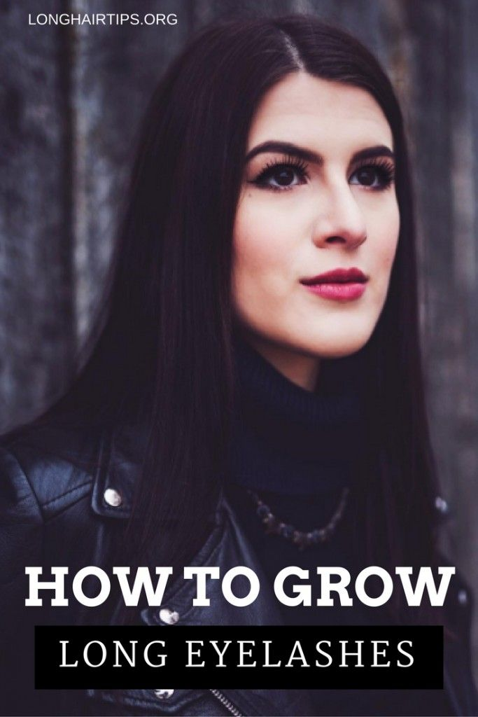 How To Grow Long Eyelashes FAST! (Guaranteed Longer ...
