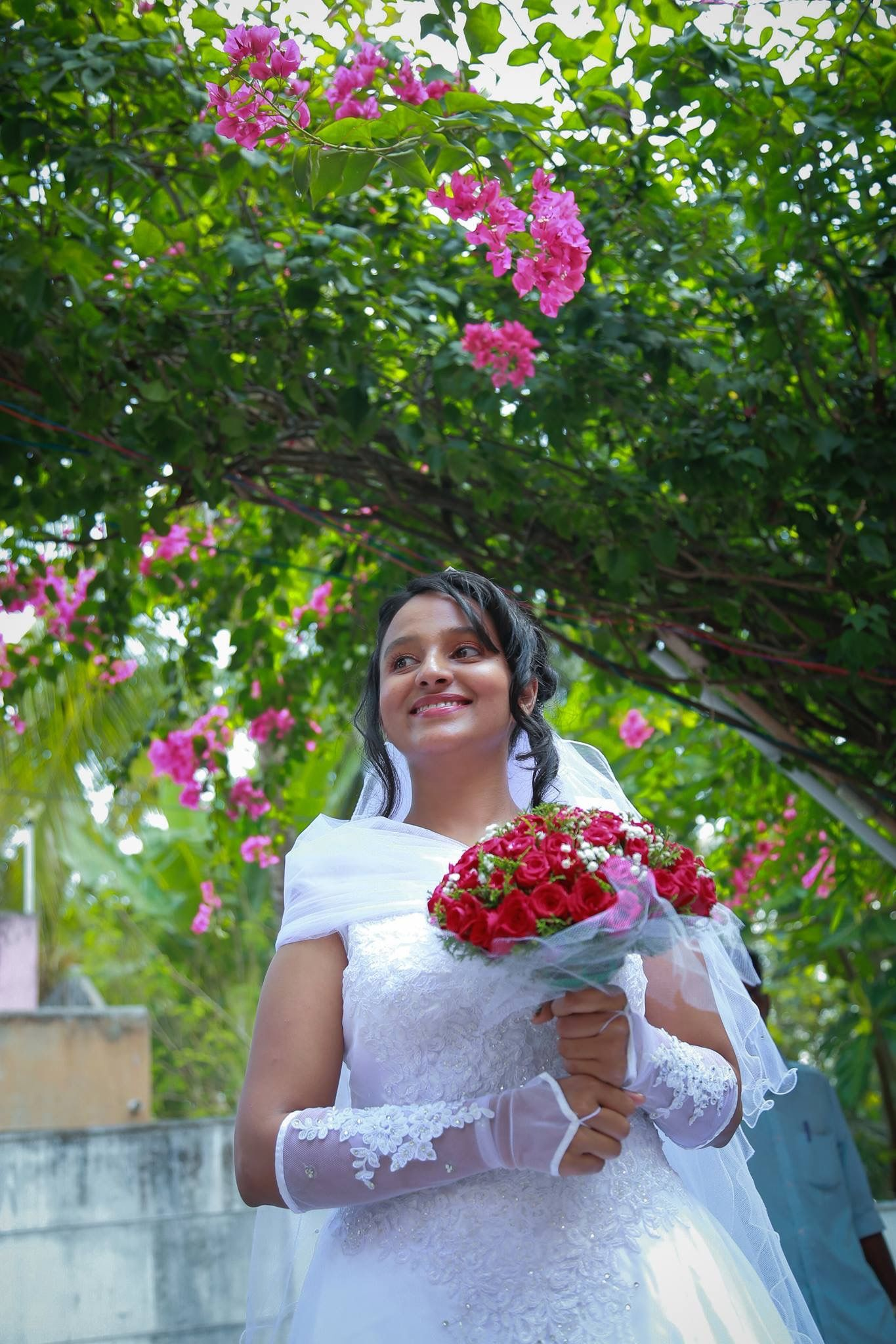 indian wedding #christian bride #bridal makeup #kerala bride #kerala ...