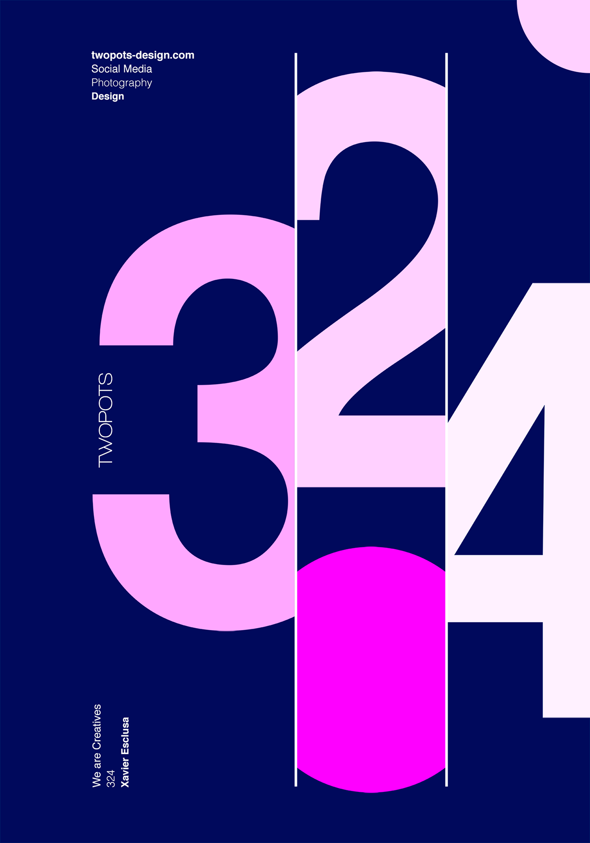 the magic of numbers in graphic design posters | illustrations