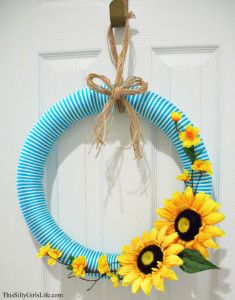 Photo of Fall Fabric Wreath – This Silly Girl's Kitchen