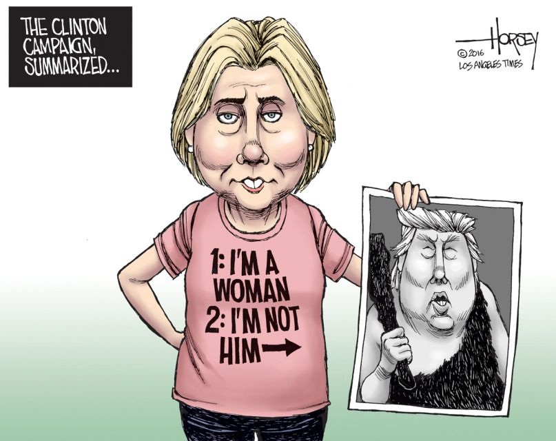 Image result for hillary clinton cartoons 2017