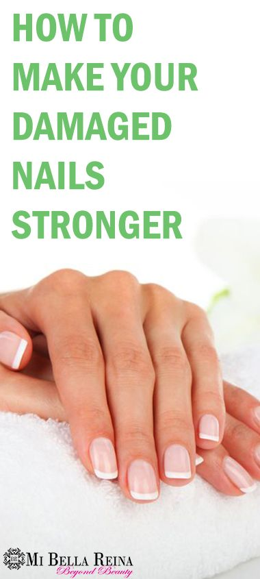 How To Make Your Nails Stronger After Gels & Acrylics | Acrylics ...