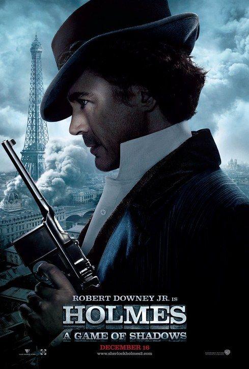 """Sherlock Holmes: A Game of Shadows"" - Holmes character poster"