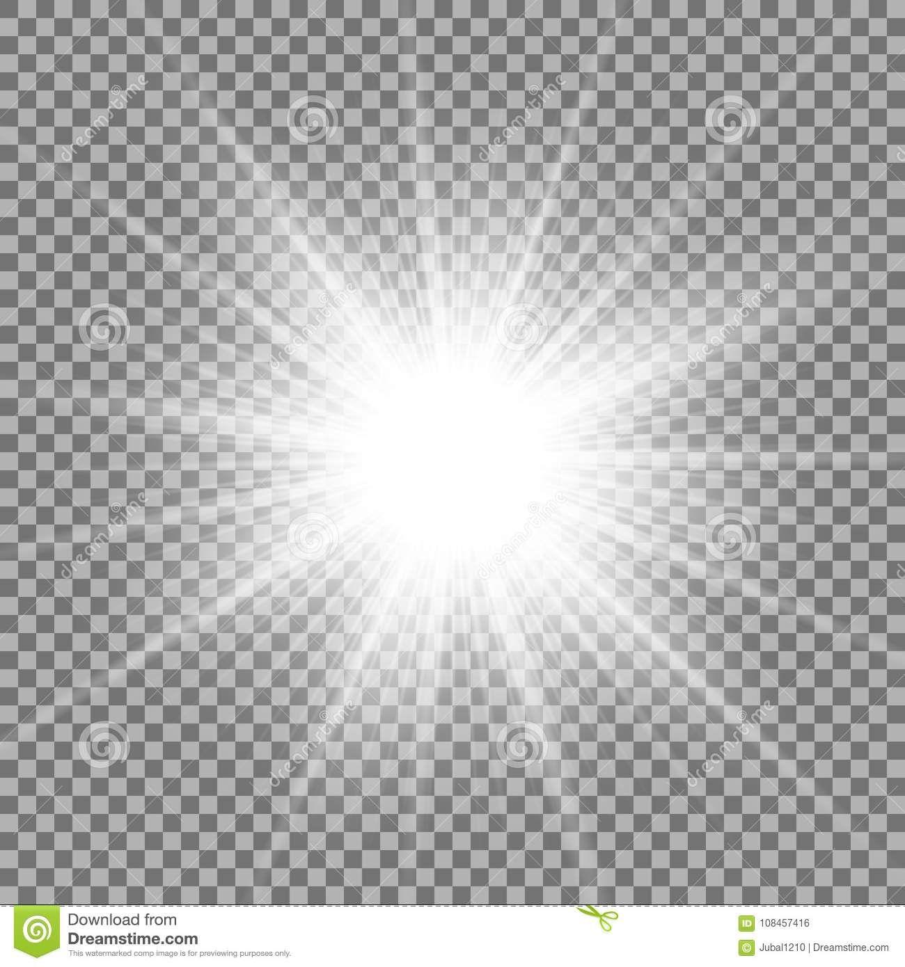 Estrela De Brilho No Fundo Transparente Cor Branca Ilustracao Do Vetor Ilustracao De Prata Lente 108457416 Estrela Efeito De Luz Fundo De Brilho