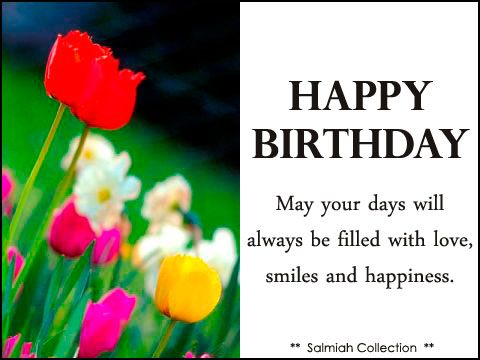 Flowers of life birthday wish 29 may your days will always be fil collection of my greeting cards beautiful quotes and islamic stuffs bookmarktalkfo Images