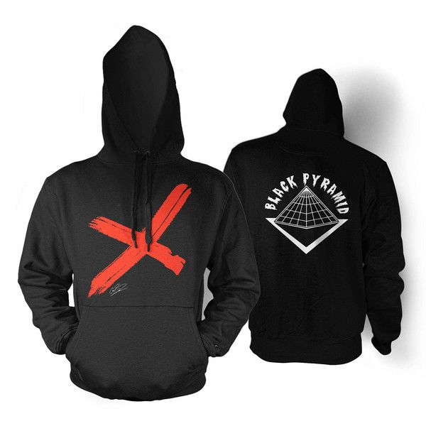 5ac00827 Chris Brown/Black Pyramid 'X' Hoodie – The Official Chris Brown Online Store