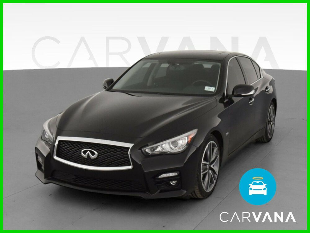 2017 Infiniti Q50 Q50 3.0t Premium Sedan 4D LED Headlamps