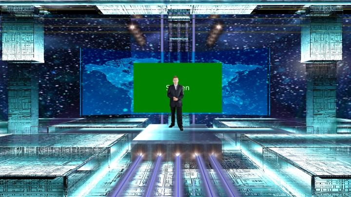 Sci Fi Interstellar Virtual Set Interstellar Virtual Sci Fi
