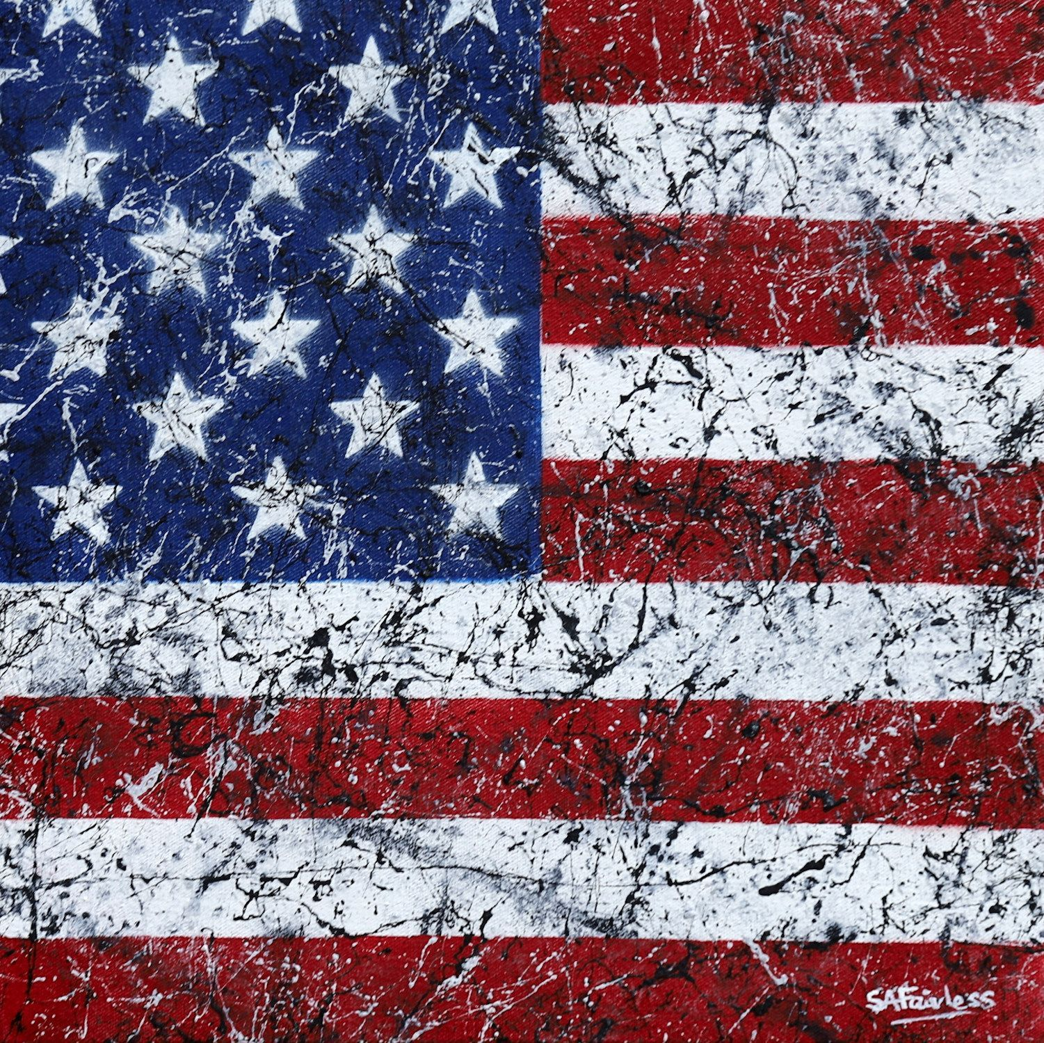 This American Flag Has Too Many Stars And Stripes Http Ift Tt 2e3mxhl American Flag Flag Stripes