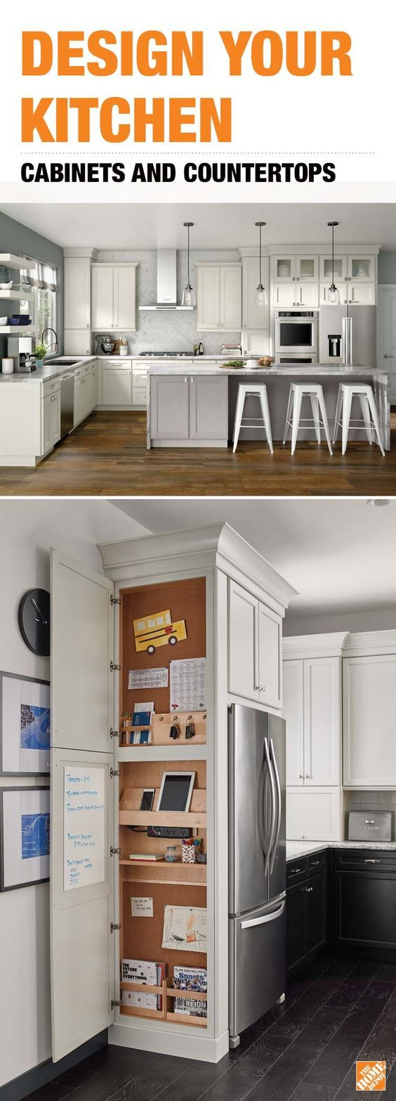 Add Function To The Heart Of Your Home By Customizing Your Ultimate Kitchen Custom Cabinets Create A Kitchen Remodel Cost Kitchen Remodel Small Kitchen Design