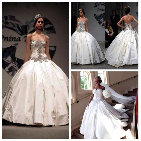 The dress of my dreams! Pnina Tornei Ball Gown Wedding dress. The ...