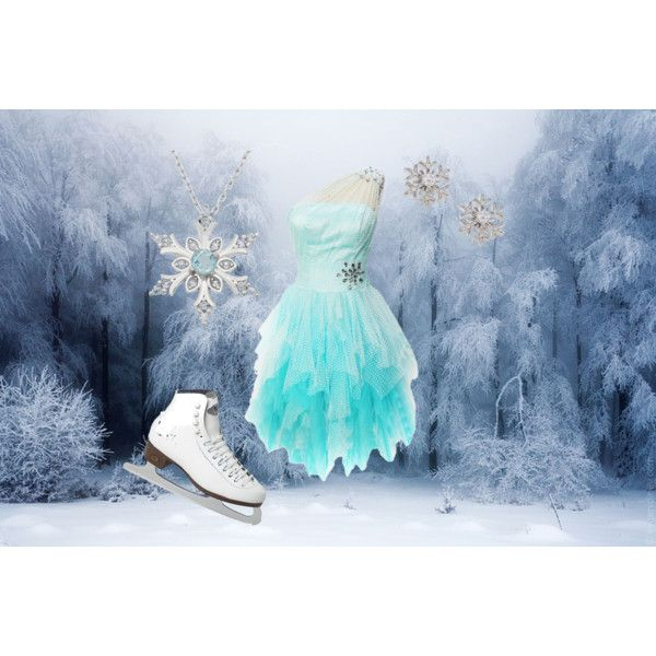 """Frozen on ice"" by accillia on Polyvore"