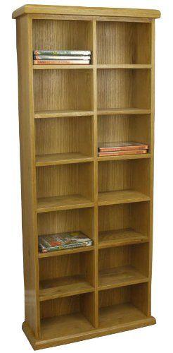 Dvd Storage Units Shelves Shelf Free Delivery Solid Wood Kitchens