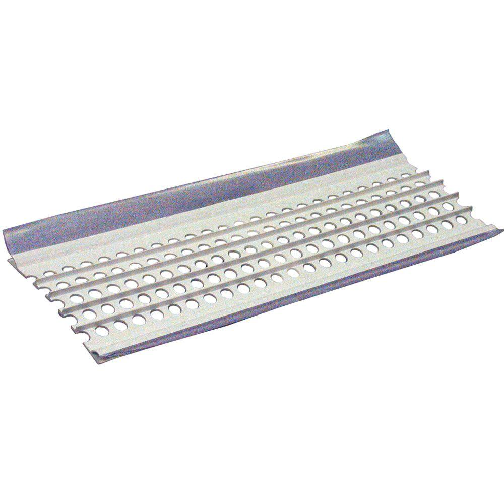 Amerimax Home Products 6 Ft White Vinyl Leaf Guard Plus Ta010 Leaf Guard White Vinyl Drip Edge