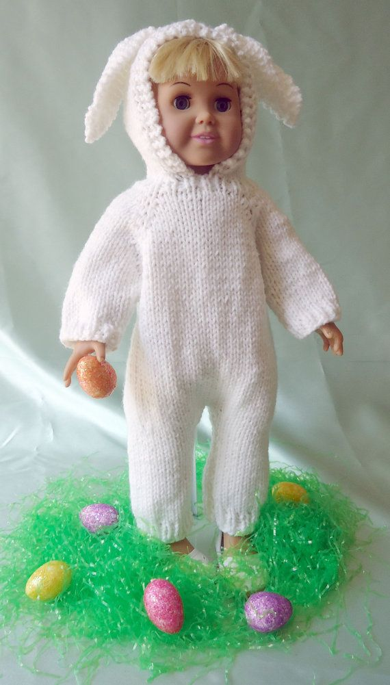 Halloween Cat Costume & More, Knitting Patterns for 18-inch Dolls ...