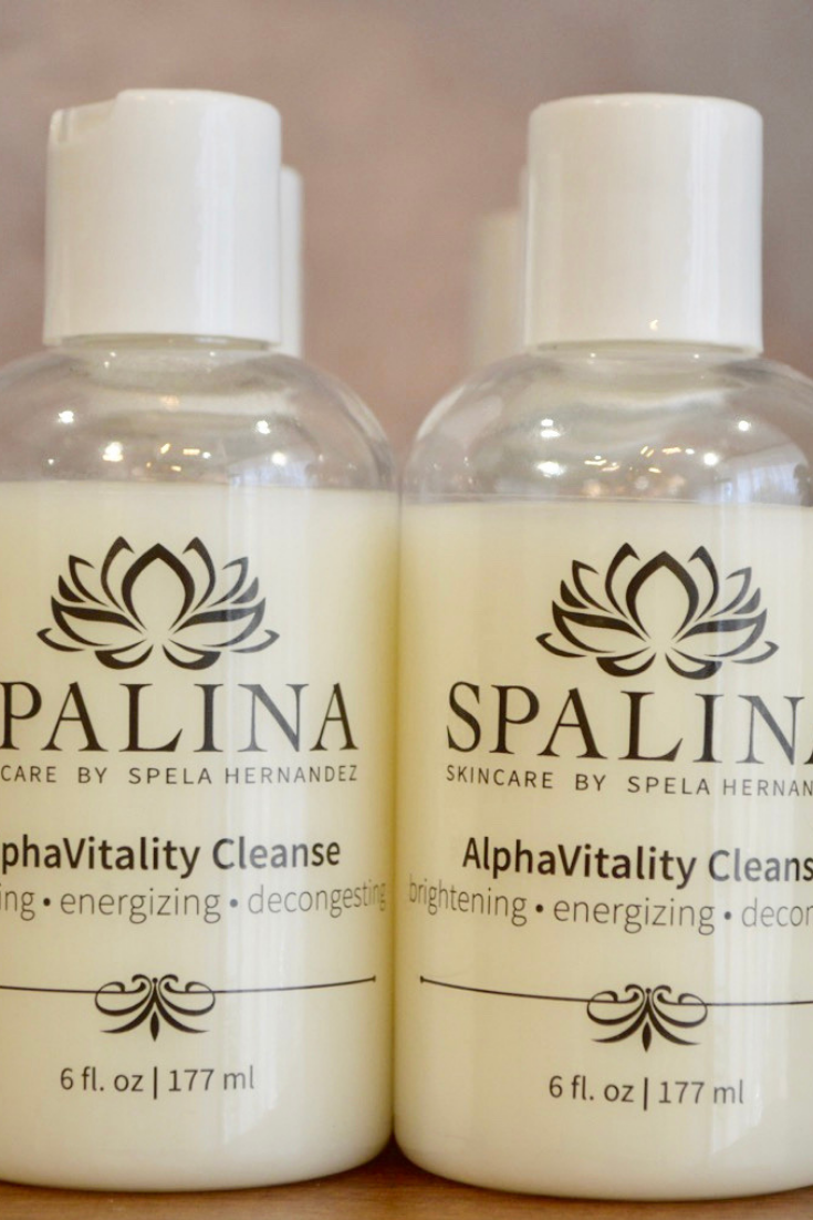 Alphavitality Cleanse Spalina Inc Facial Cleanser Professional Skin Care Products Best Acne Cleanser
