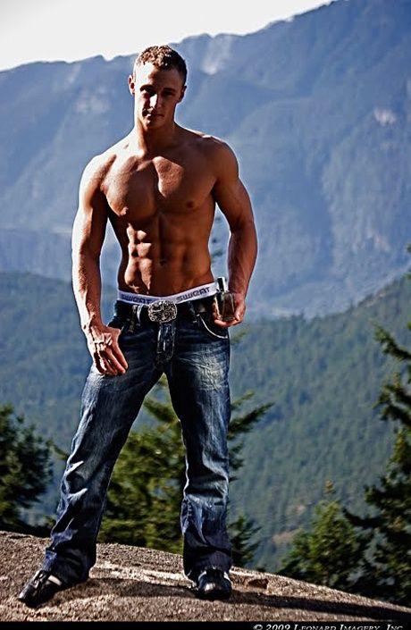 a man hunk in sweatundergear jeans on the moutain2.jpg (460×705 ...