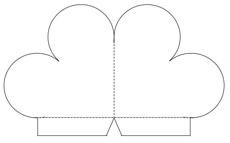 Открытки в виде сердца шаблон