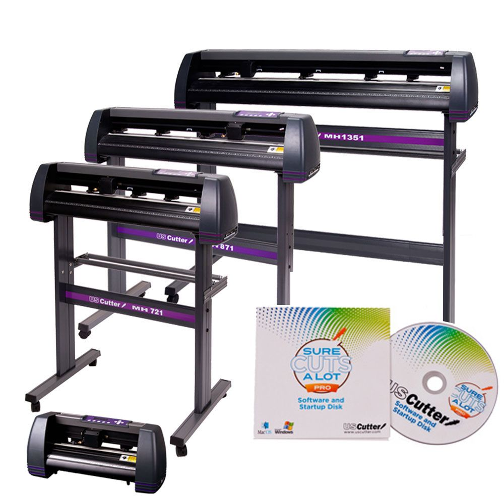 Best Vinyl Cutter Uscutter Mh Series Vinyl Cutter W Sure Cuts A Lot Pro Design