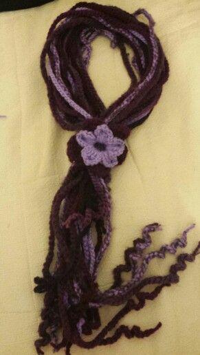 Bufanda de flor