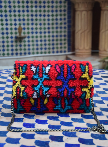 Berber Pillows Clutch A8  Moroccan clutches