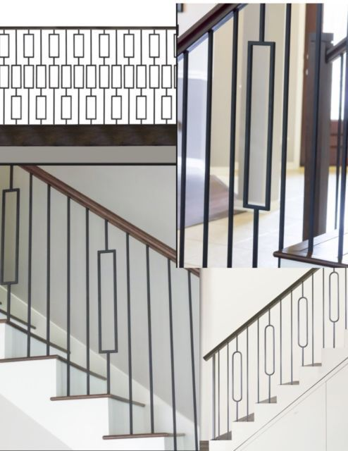 Iron Balusters Iron Spindles Iron Stair Parts CRAFTSMAN COLLECTION ASH GRAY