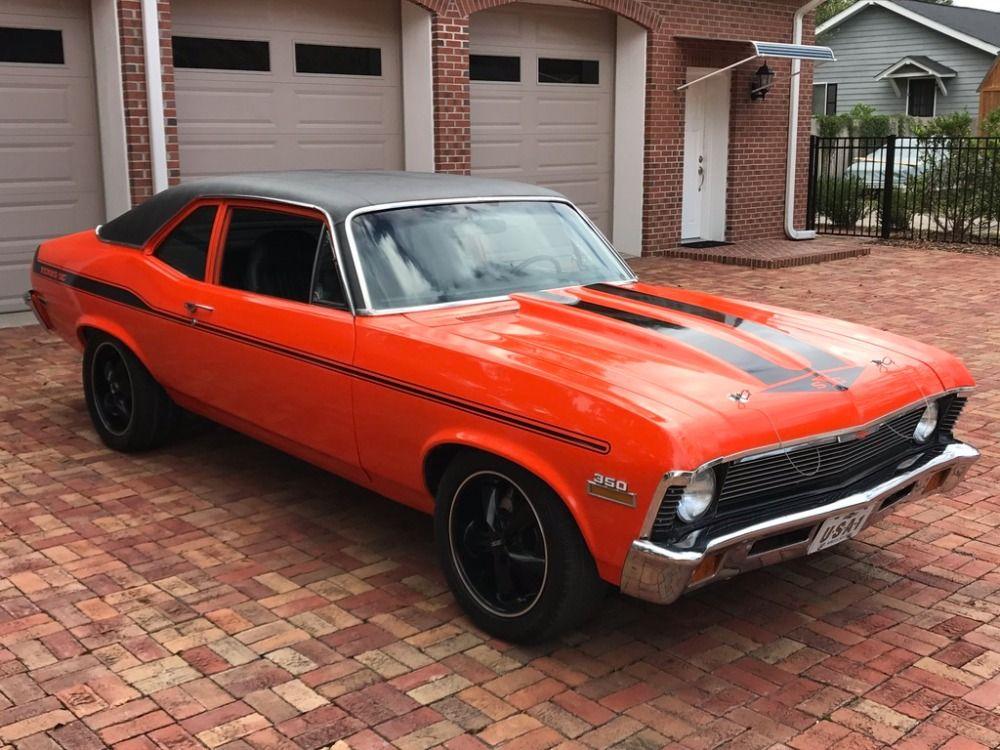 Used 1972 Chevrolet Nova -YENKO CLONE-HUGGER ORANGE-VERY RELIABLE ...