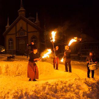Northern Lights Festival Tromso Scandinavian History Norway Viking Northern Lights Festival