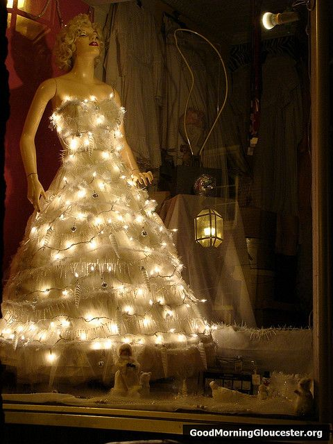 Four Christmas Trees Using Mannequins Dress Forms Part 1