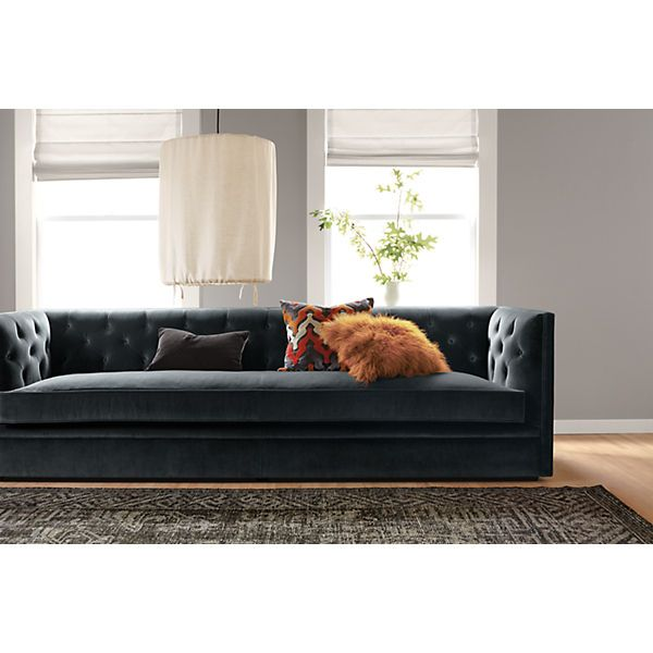 Chaise Lounge Sofa Macalester Sofas Sofas Living Room u Board I like this design but