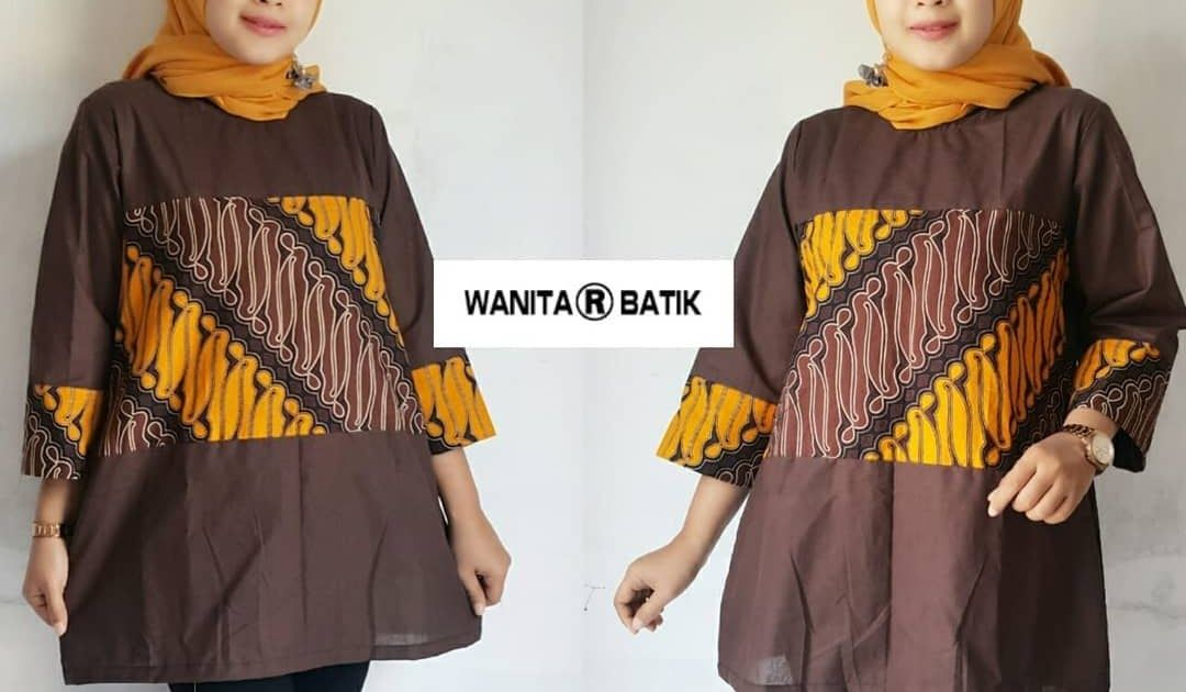 Gambar Baju Batik Untuk Wanita Gemuk 52 Model Baju Batik Wanita Terbaru 2020 Modern Formal Download Model Baju Batik Wanita Ge Model Pakaian Wanita Gambar