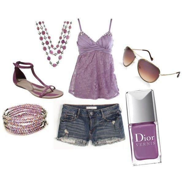 Summer fun, created by jessieb-dressmepretty.polyvore.com