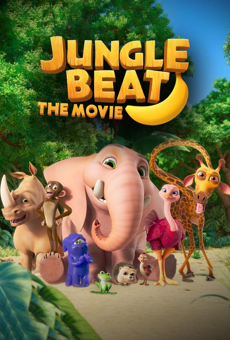 Jungle Beat The Movie In 2020 Kids Comedy Movies Movies And Tv Shows