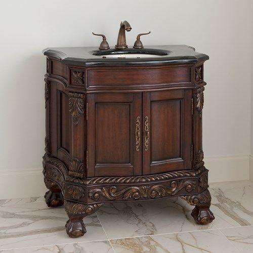 BALL U0026 CLAW MEDIUM SINK CHEST   Ambella Home #Vanity #Furniture #Bathroom #