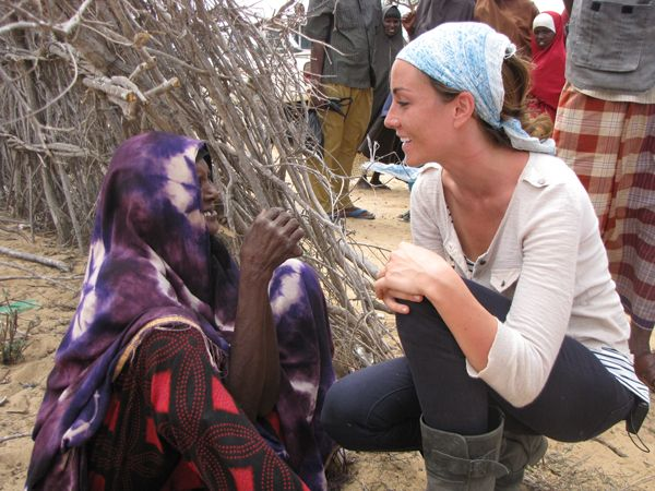 Amanda Lindhout - Hope for Somalia. What a fantastic and inspiring woman- love her.