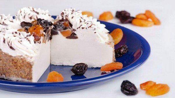 творог сметана желатин десерт