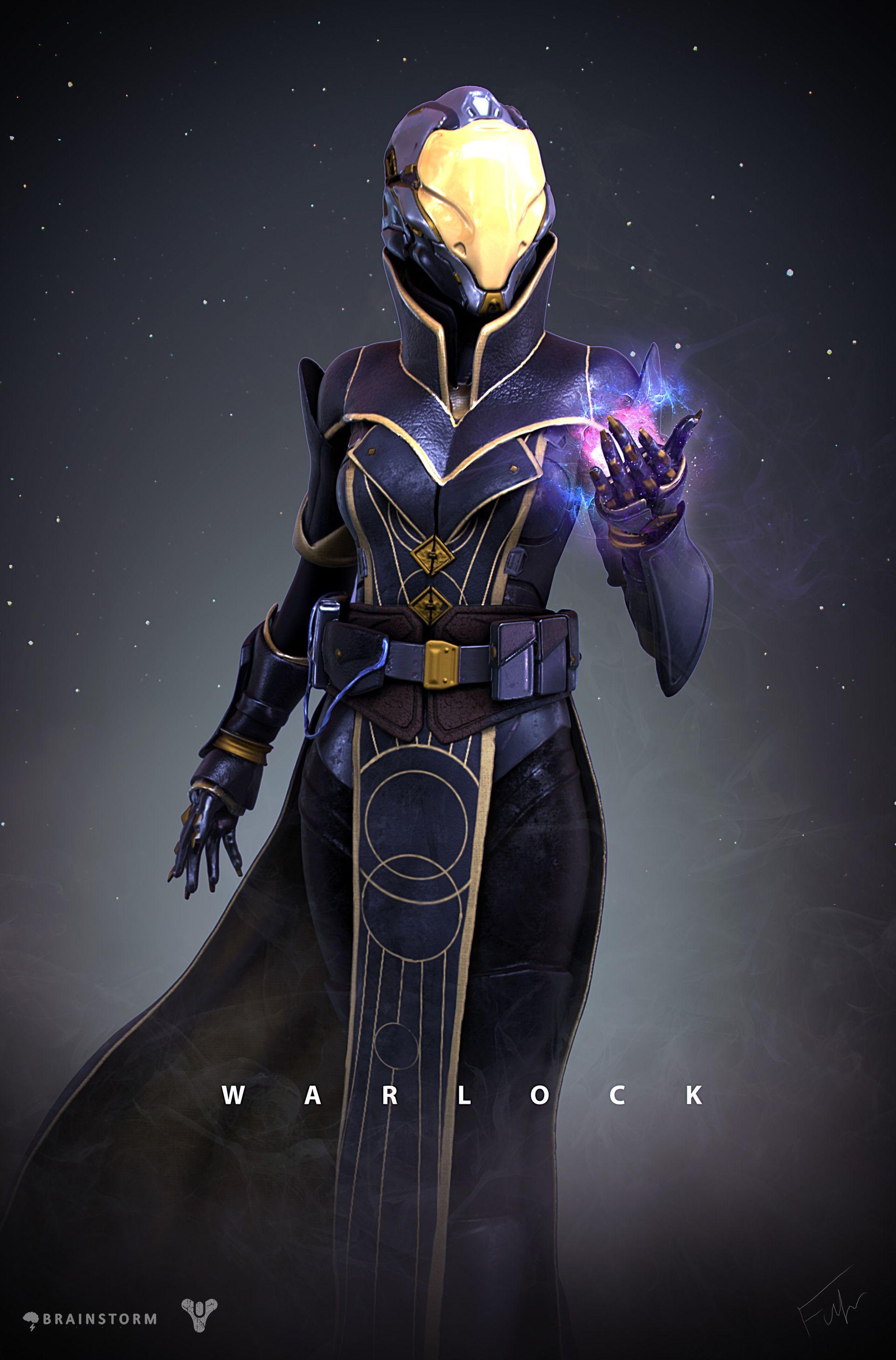 ArtStation Destiny Warlock Redesign, Alexander Fuhr