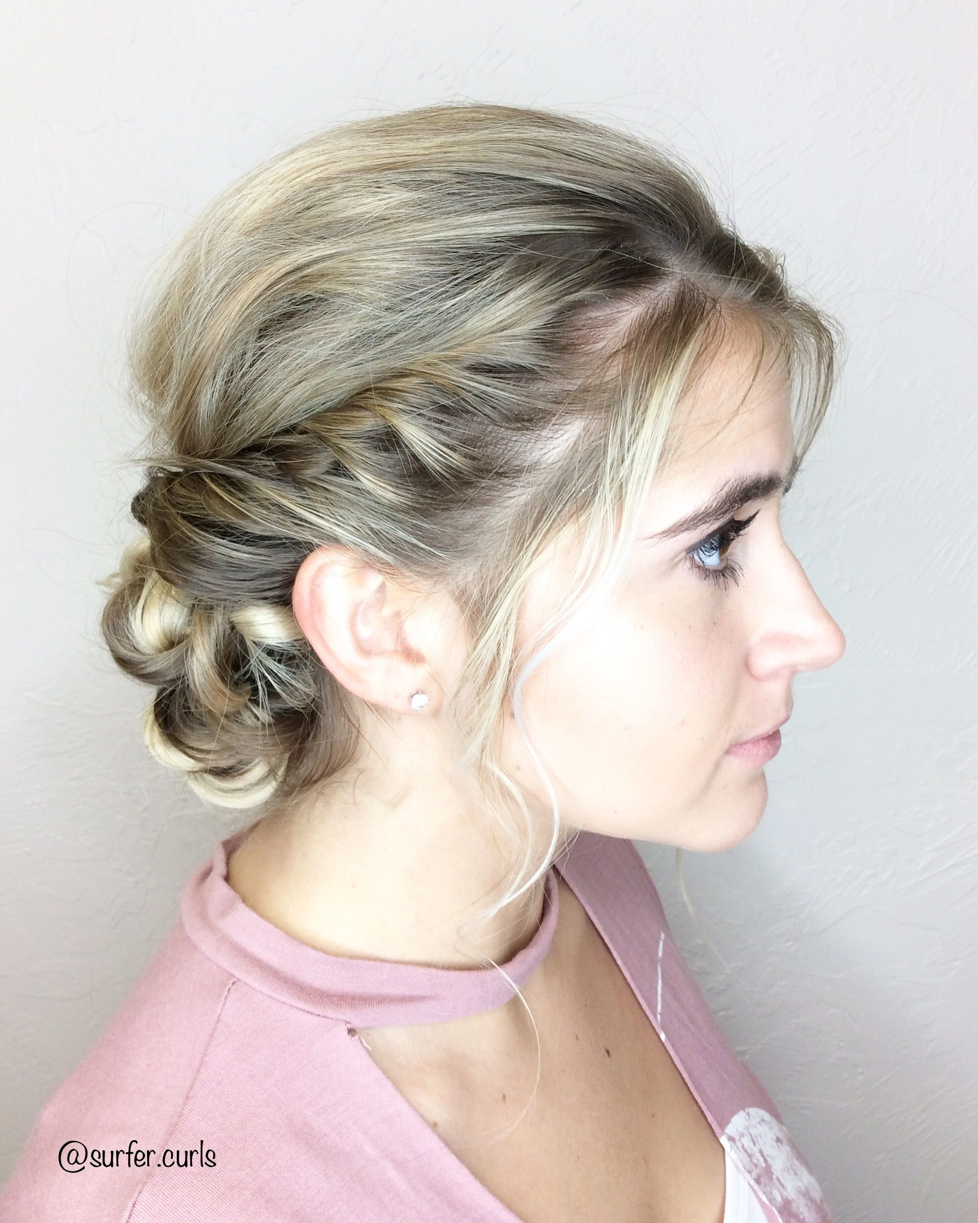 Braided and twisted wedding updo prom updo ultimate wedding hair