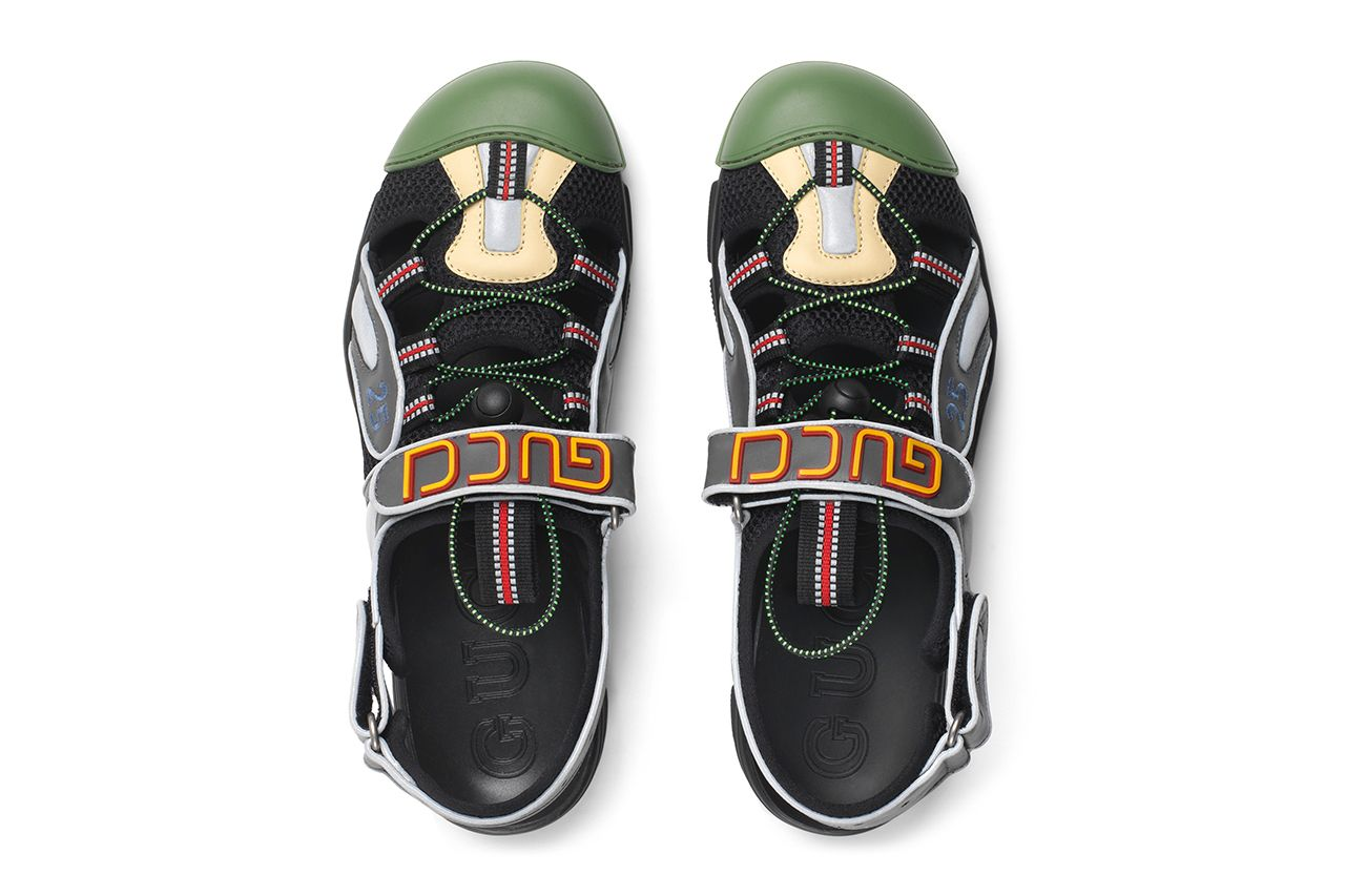 Gucci Fuses Its Flashtrek Sneaker With