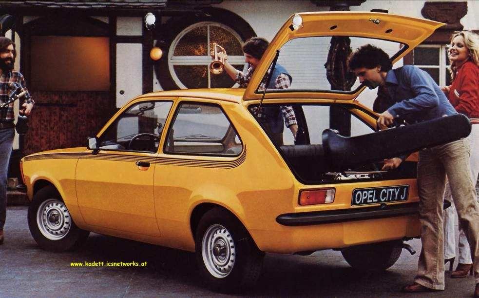 opel kadett c city junior city 70s cars cars en. Black Bedroom Furniture Sets. Home Design Ideas
