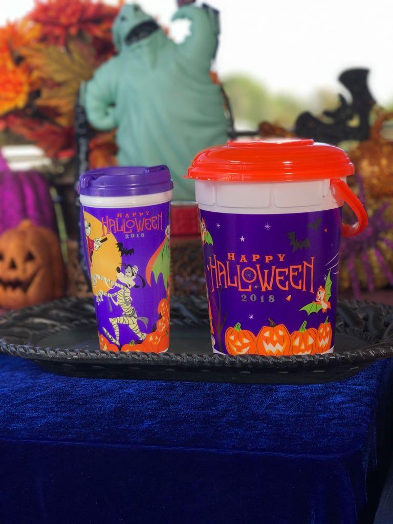 Disneyland Halloween Popcorn Bucket 2018.Disneyland Just Revealed Its New Halloween Popcorn Buckets