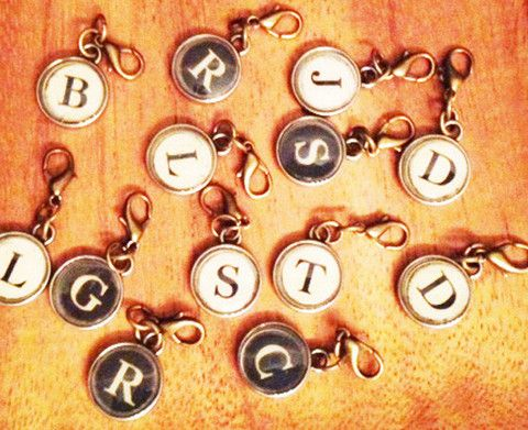 Typewriter Letter Charms – Urban Rustic Market