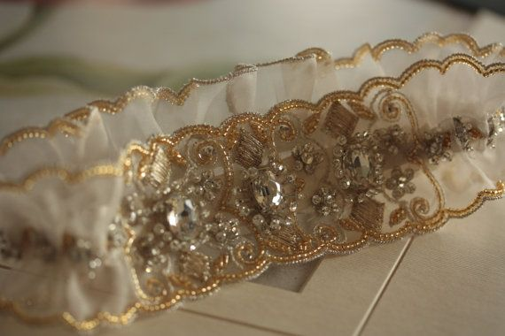 closeup of garter