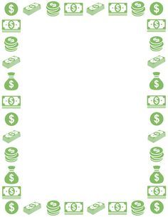 A Money Page Border Free Downloads At Pageborders Org Download Money Border Borders For Paper Clip Art Borders Page Borders